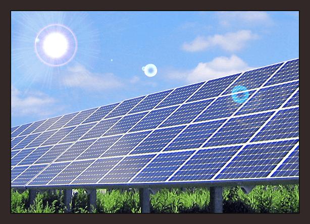 ソーラー発電のイメージ画像