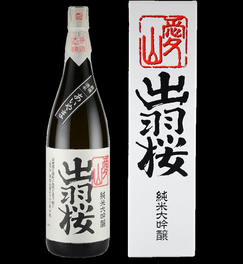 出羽桜 純米大吟醸酒「愛山」の画像